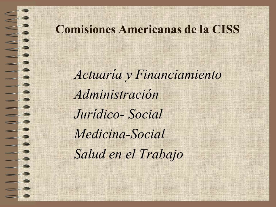 Comisiones Americanas de la CISS