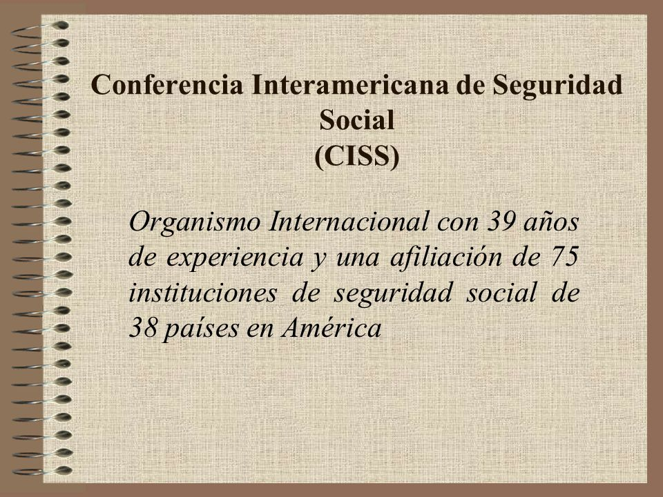 Conferencia Interamericana de Seguridad Social (CISS)