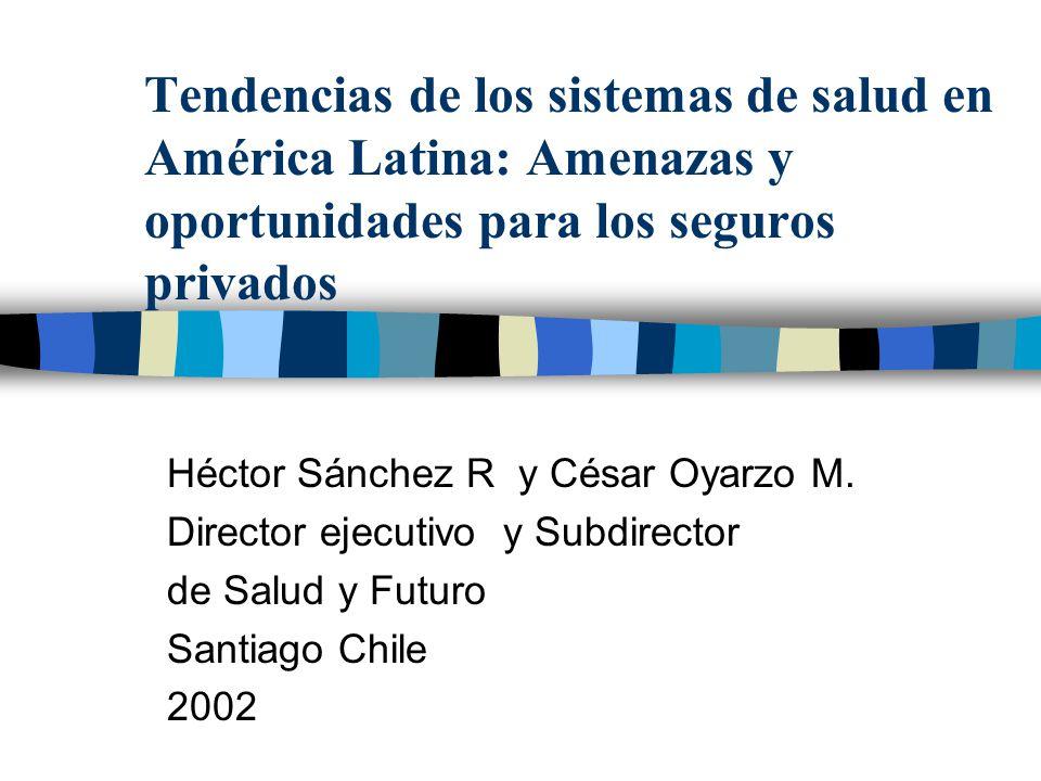 Tendencias de los sistemas de salud en América Latina: Amenazas y oportunidades para los seguros privados