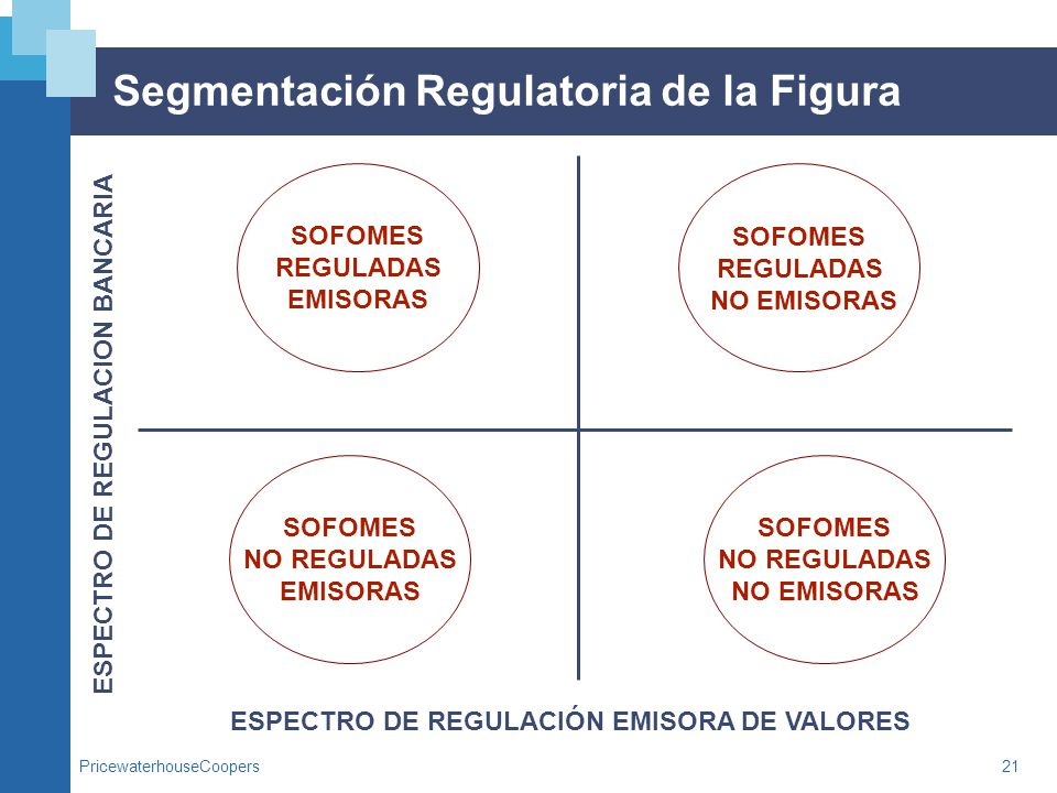 Segmentación Regulatoria de la Figura