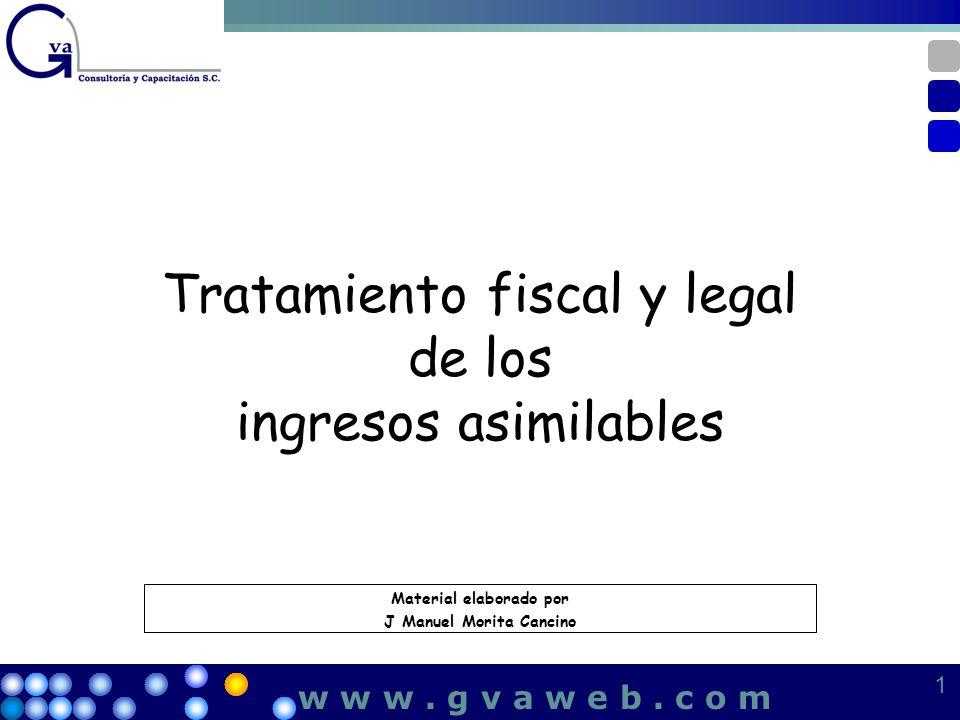 Tratamiento fiscal y legal de los ingresos asimilables