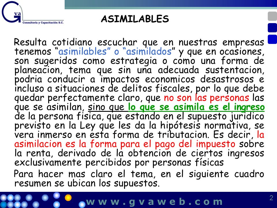 ASIMILABLES