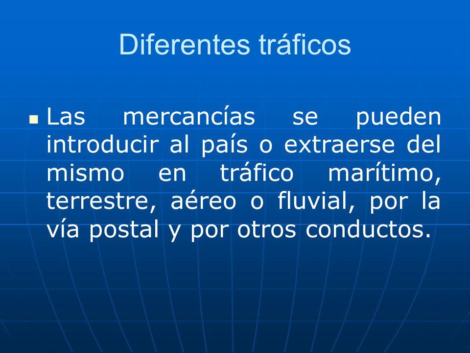 Diferentes tráficos