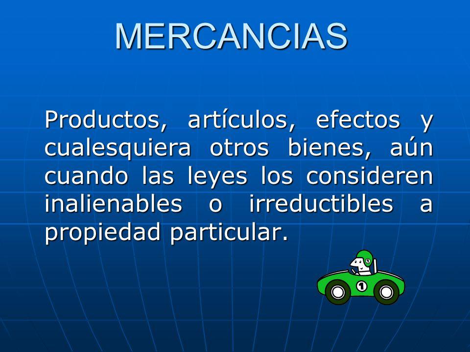 MERCANCIAS
