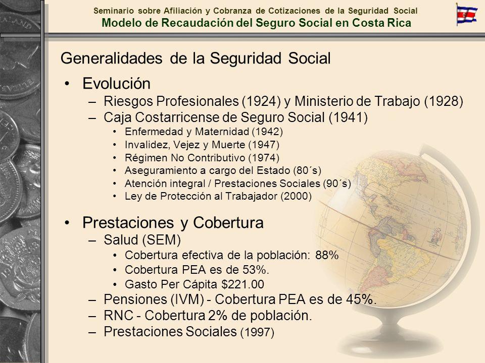 Generalidades de la Seguridad Social