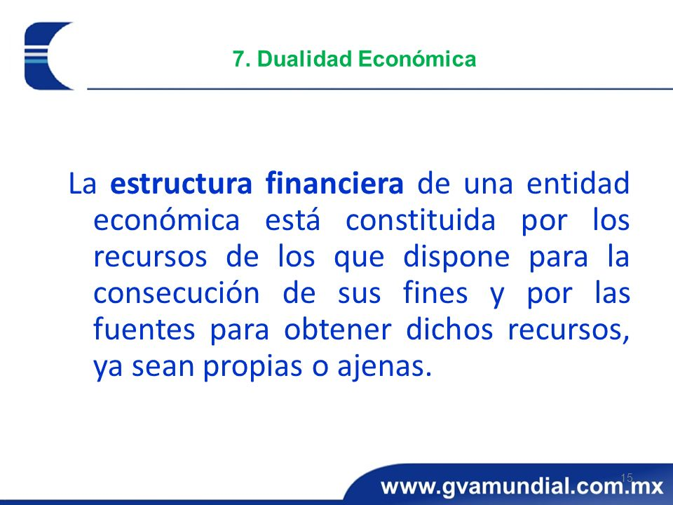 7. Dualidad Económica