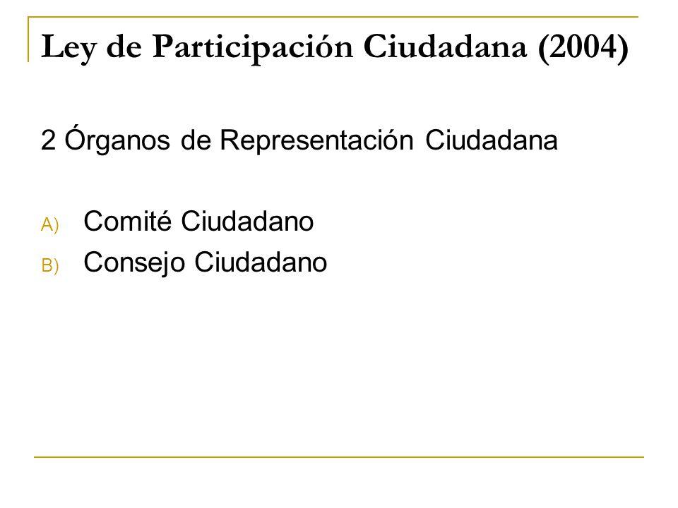 Ley de Participación Ciudadana (2004)