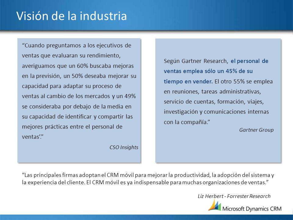 Visión de la industria