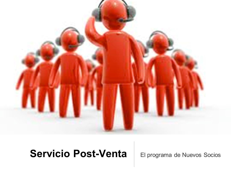 Servicio Post-Venta El programa de Nuevos Socios