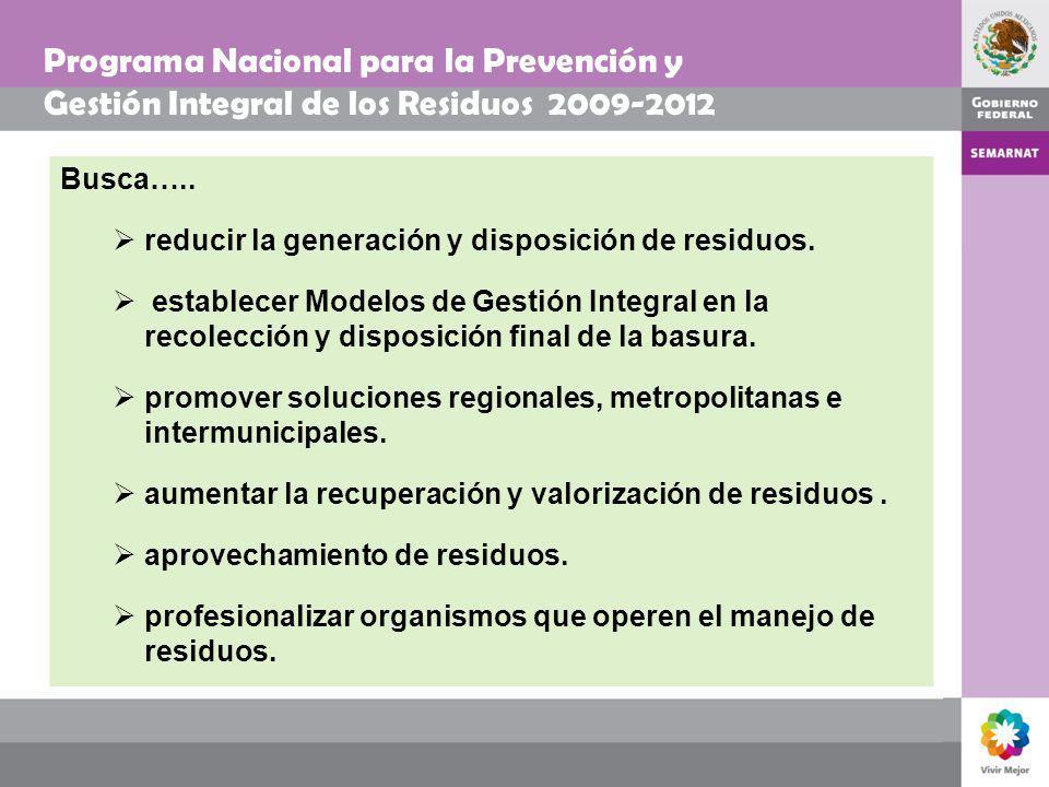 Programa Nacional para la Prevención y