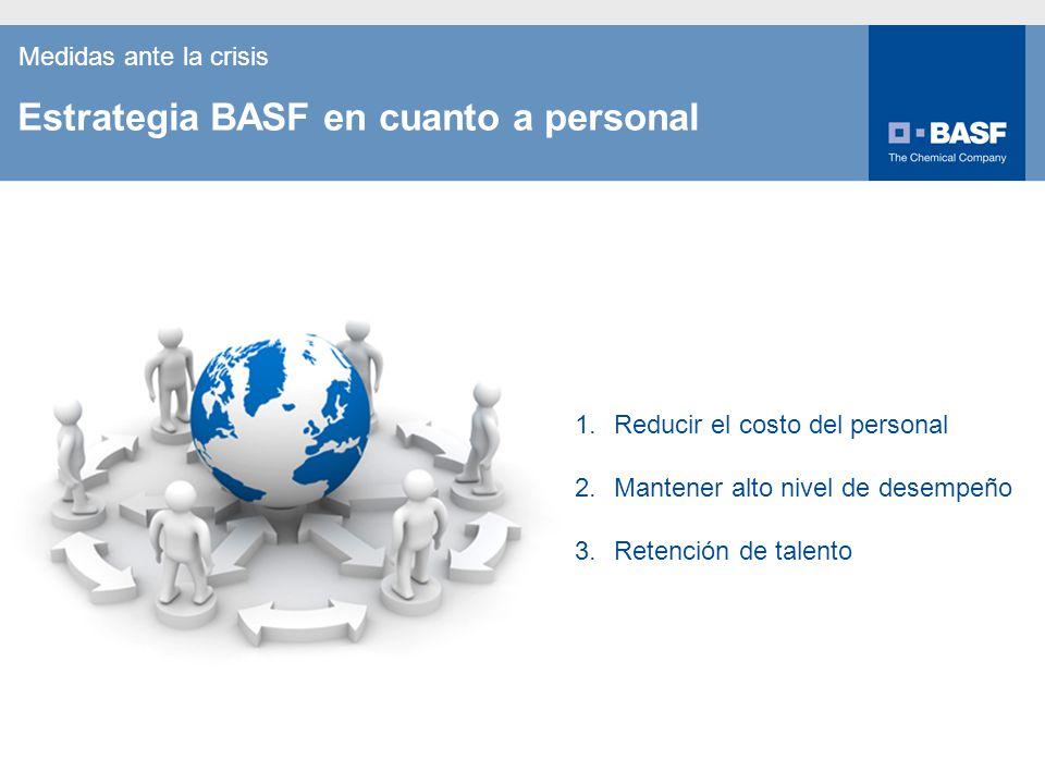Estrategia BASF en cuanto a personal
