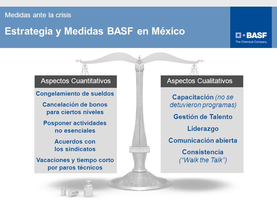 Estrategia y Medidas BASF en México