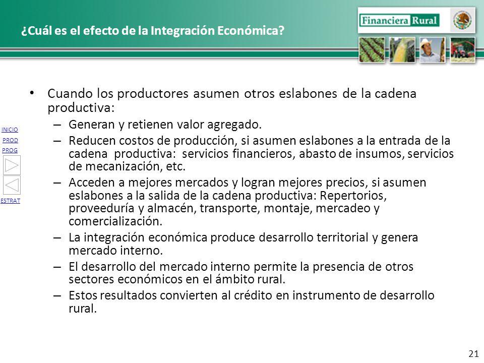 ¿Cuál es el efecto de la Integración Económica