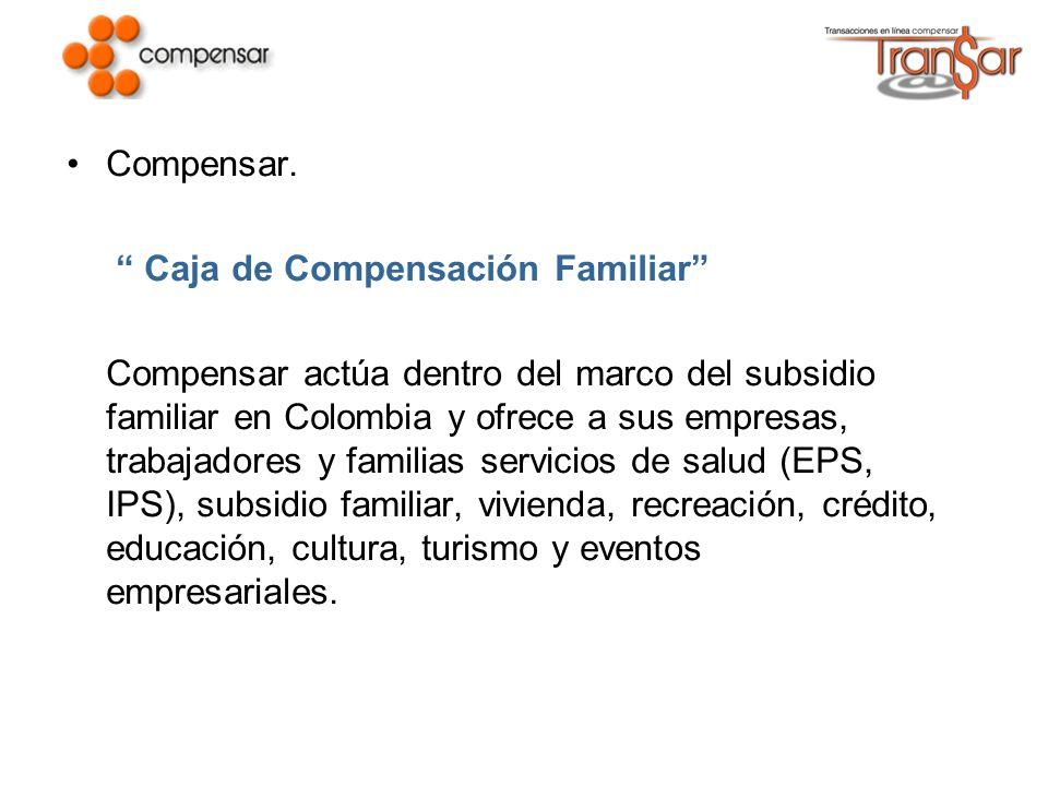 Compensar. Caja de Compensación Familiar