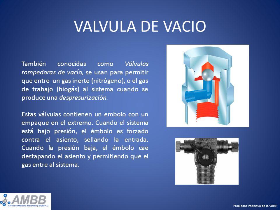 VALVULA DE VACIO