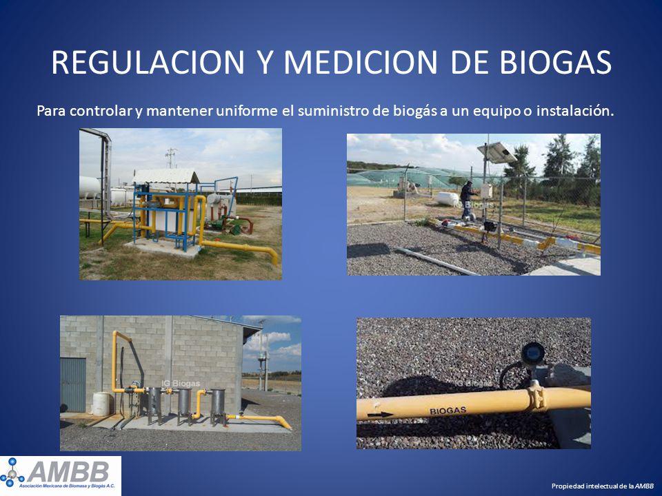 REGULACION Y MEDICION DE BIOGAS