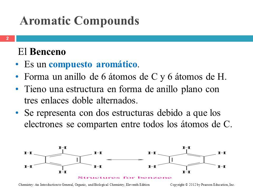 Aromatic Compounds El Benceno Es un compuesto aromático.