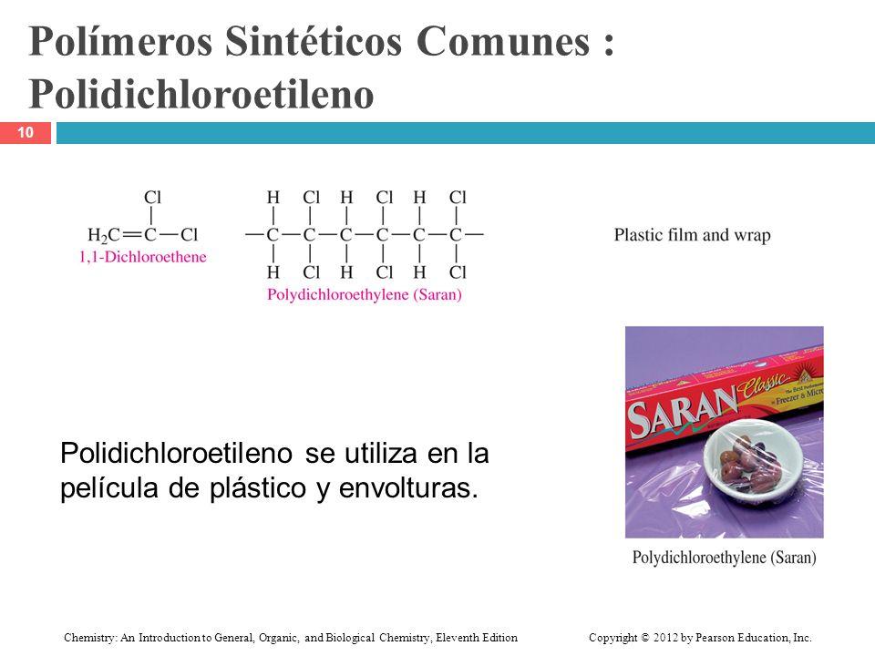 Polímeros Sintéticos Comunes : Polidichloroetileno