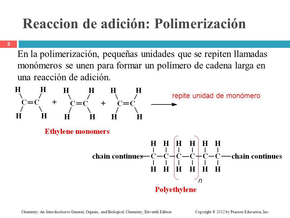 Reaccion de adición: Polimerización