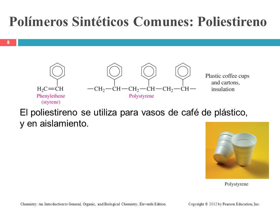 Polímeros Sintéticos Comunes: Poliestireno