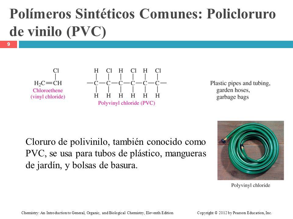 Polímeros Sintéticos Comunes: Policloruro de vinilo (PVC)