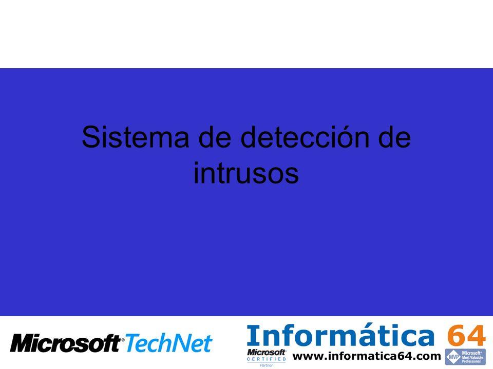 Sistema de detección de intrusos