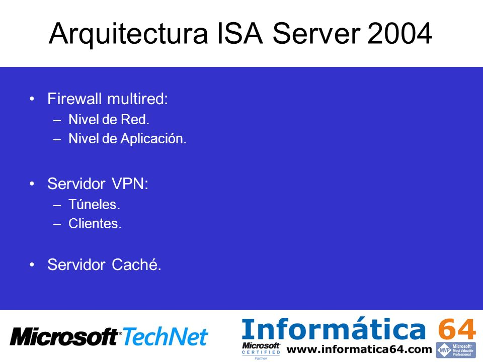 Arquitectura ISA Server 2004