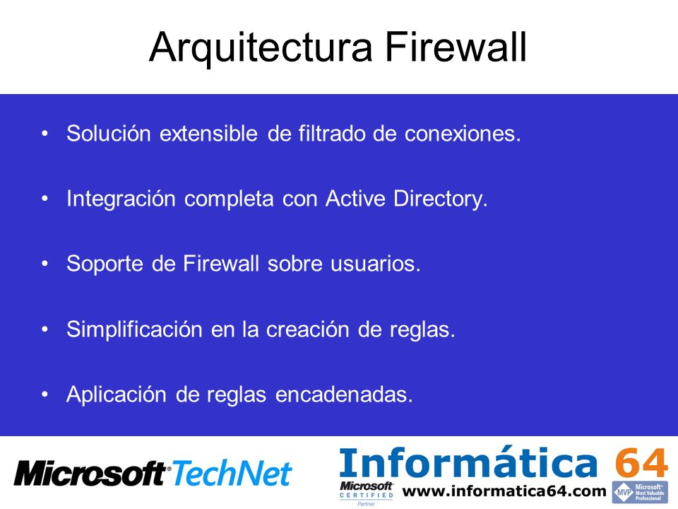 Arquitectura Firewall