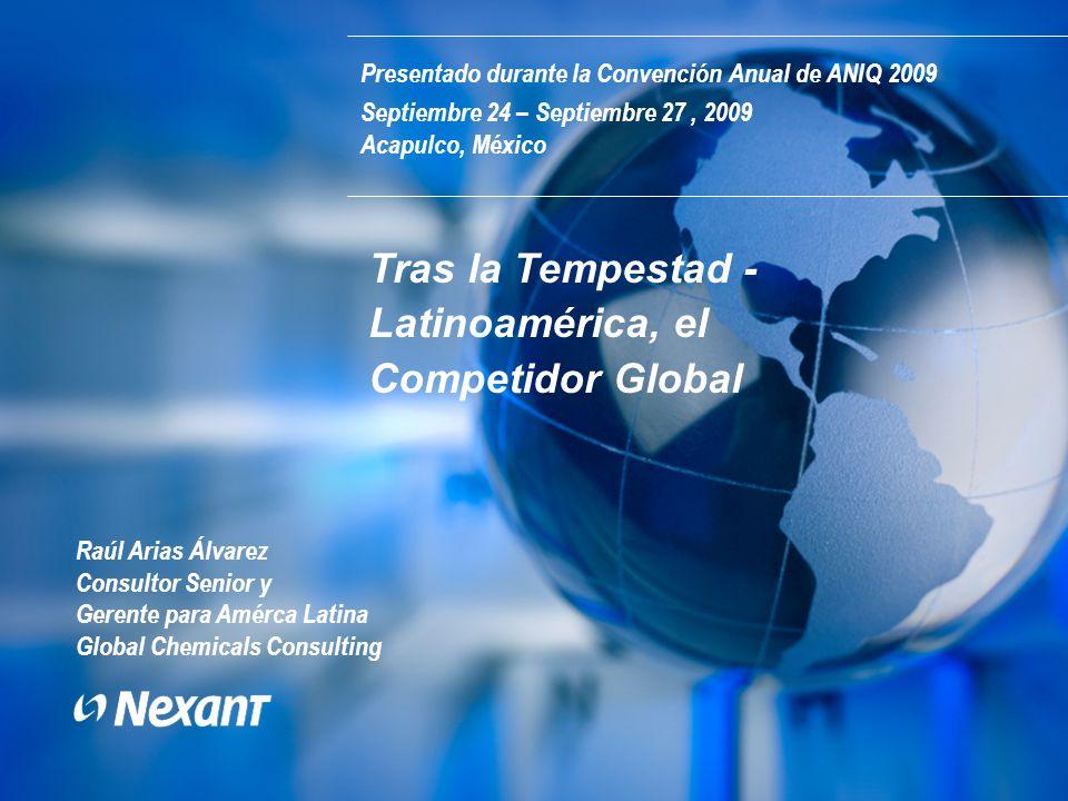 Tras la Tempestad - Latinoamérica, el Competidor Global