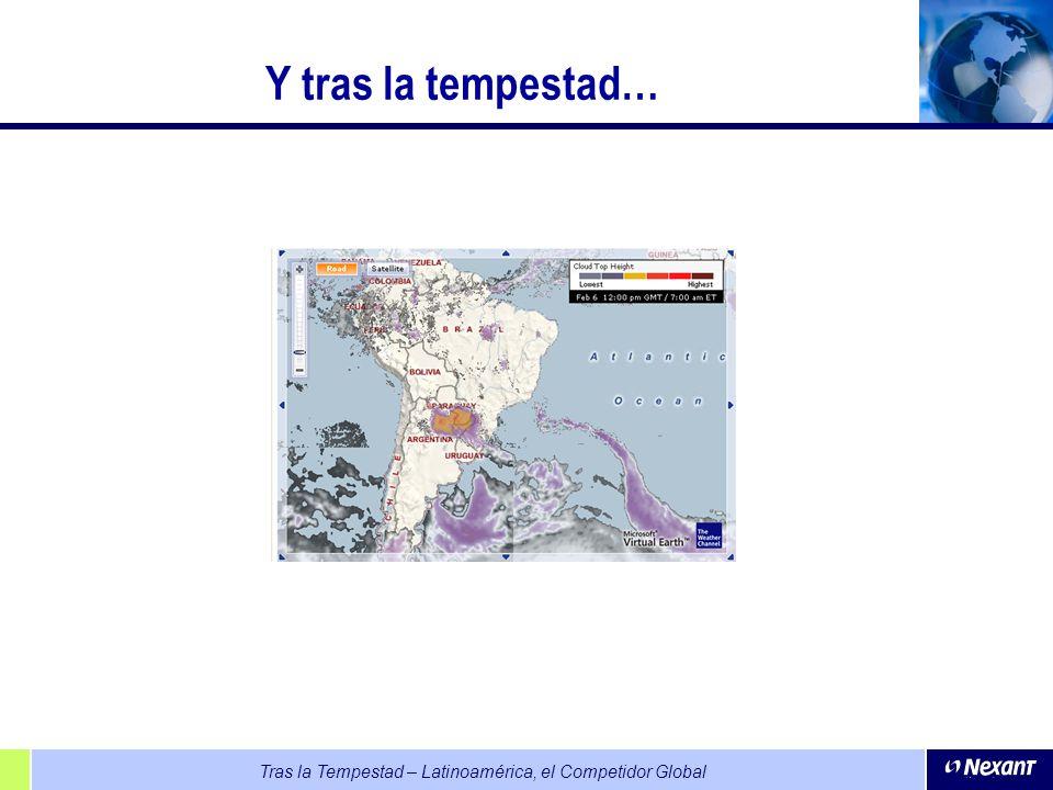 Tras la Tempestad – Latinoamérica, el Competidor Global