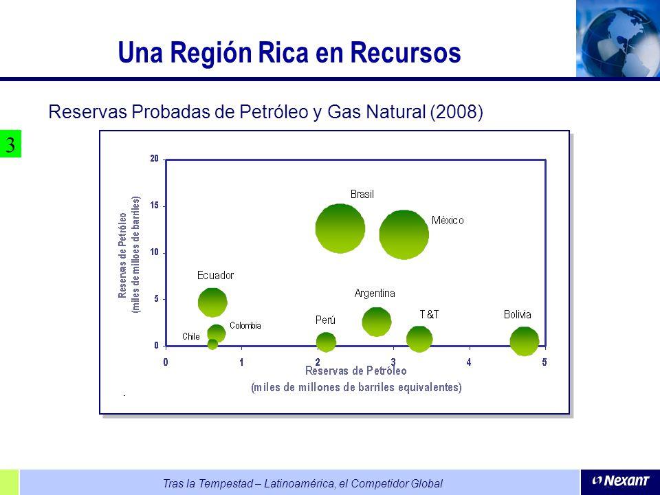Una Región Rica en Recursos