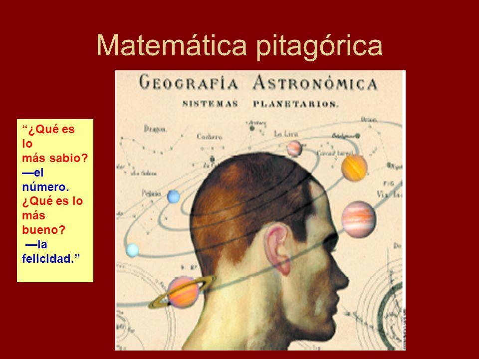 Matemática pitagórica