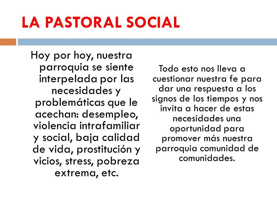 LA PASTORAL SOCIAL