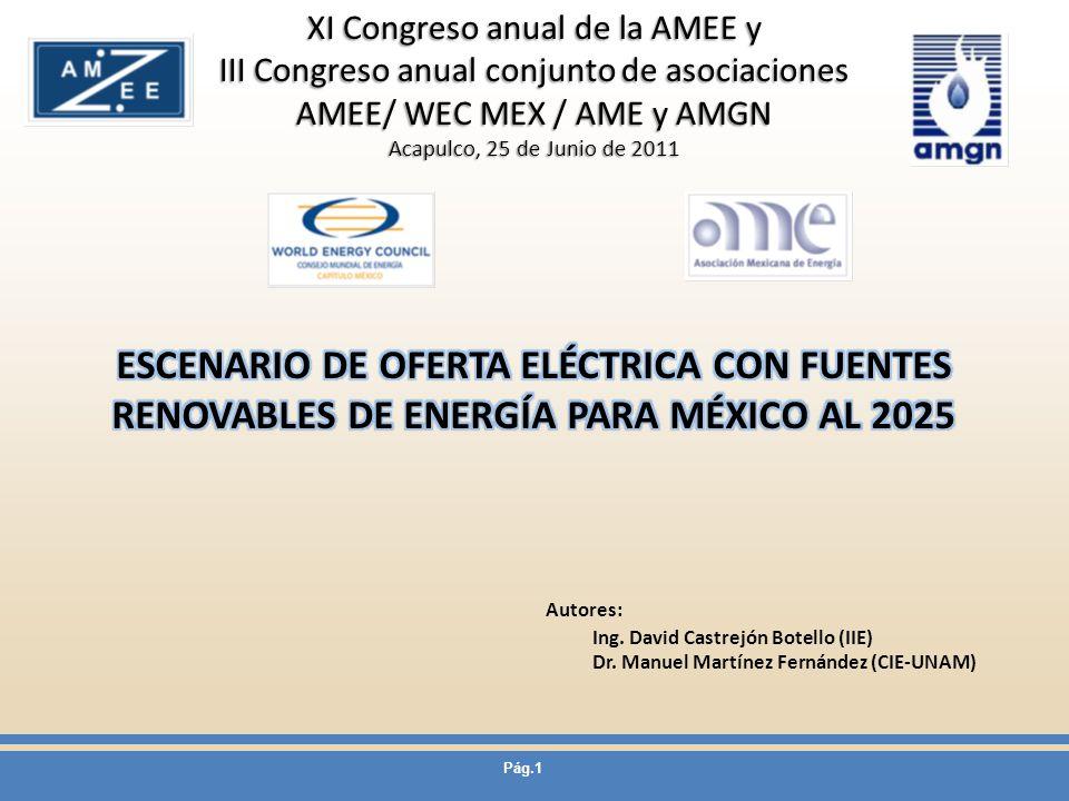 XI Congreso anual de la AMEE y