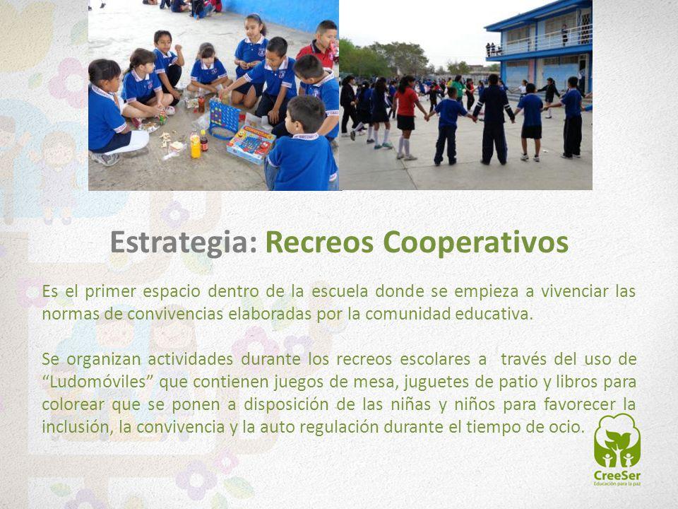Estrategia: Recreos Cooperativos