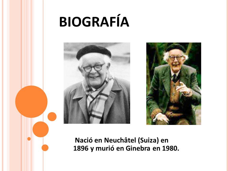 Nació en Neuchâtel (Suiza) en 1896 y murió en Ginebra en 1980.