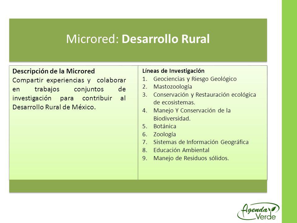 Microred: Desarrollo Rural