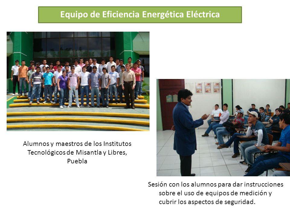 Equipo de Eficiencia Energética Eléctrica