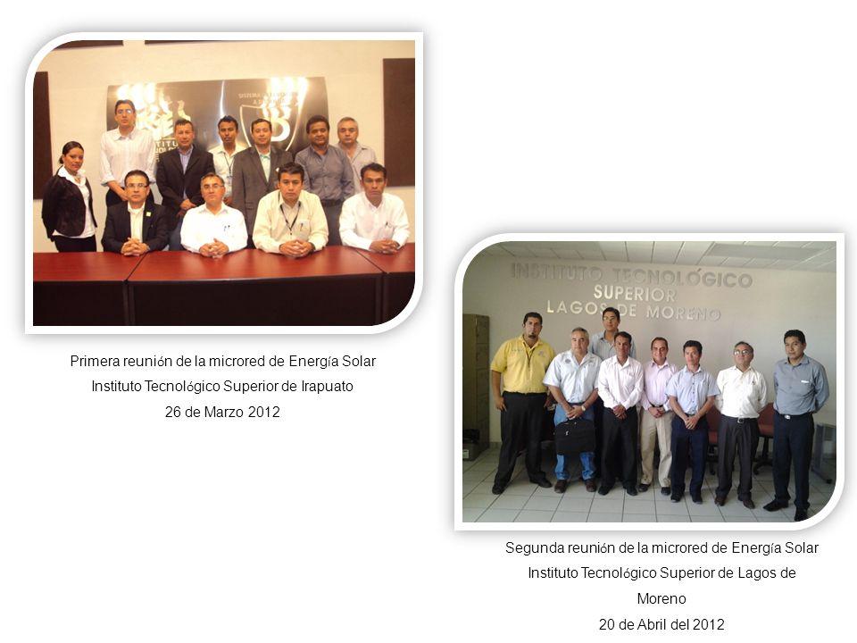 Primera reunión de la microred de Energía Solar