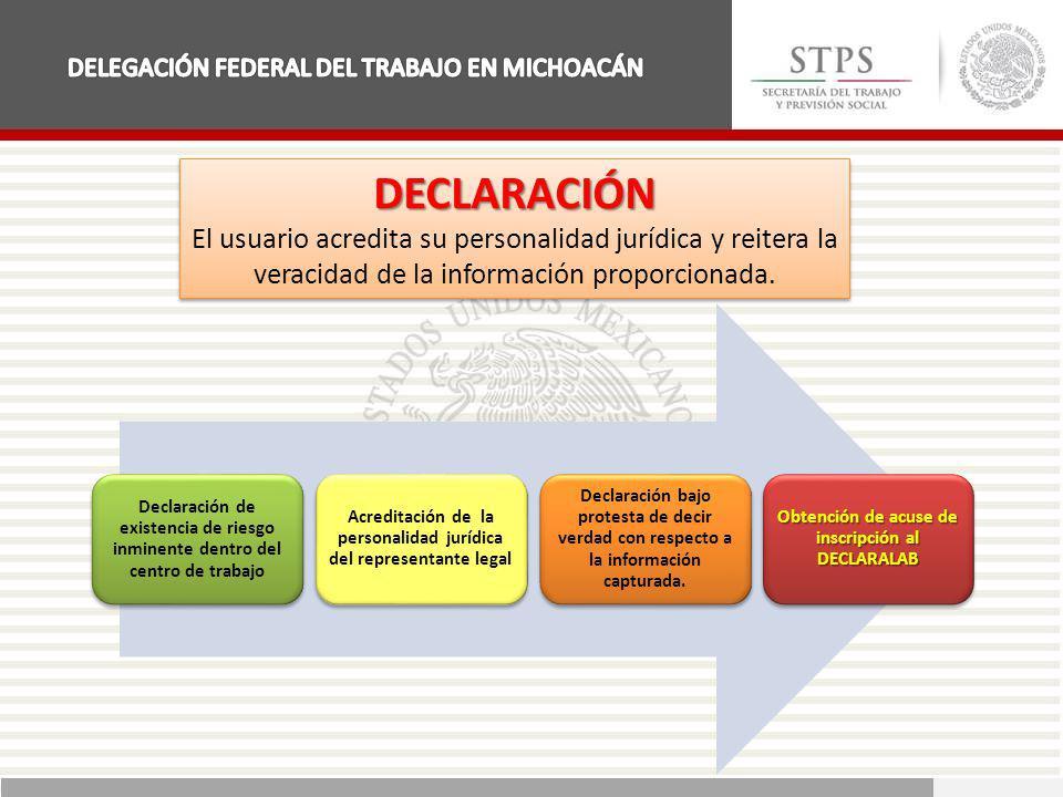 DELEGACIÓN FEDERAL DEL TRABAJO EN MICHOACÁN