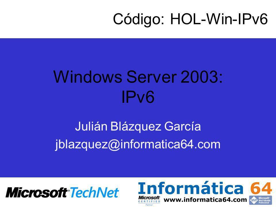 Julián Blázquez García jblazquez@informatica64.com