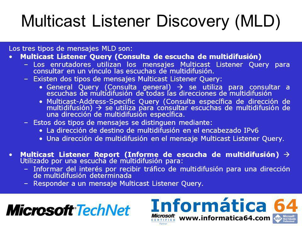 Multicast Listener Discovery (MLD)