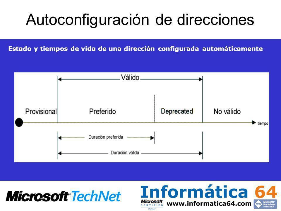 Autoconfiguración de direcciones