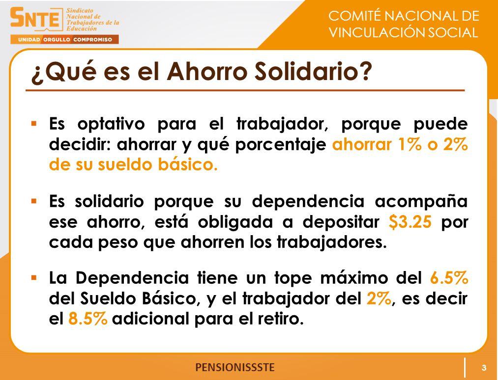 ¿Qué es el Ahorro Solidario