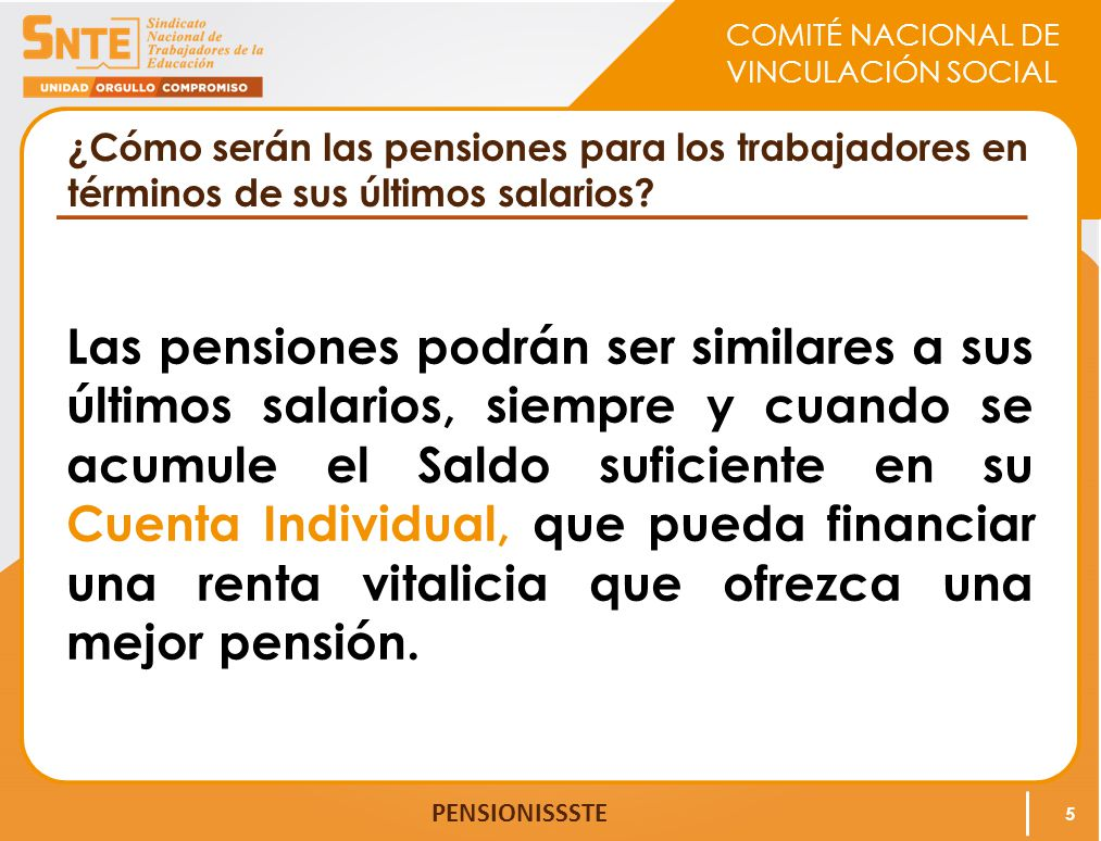 ¿Cómo serán las pensiones para los trabajadores en términos de sus últimos salarios