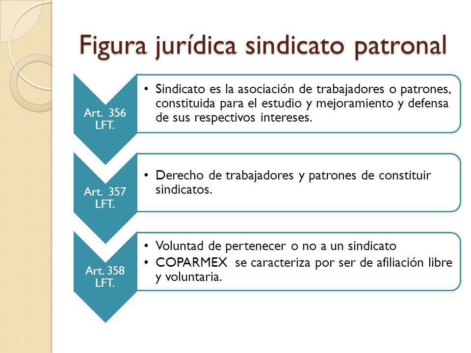 Figura jurídica sindicato patronal