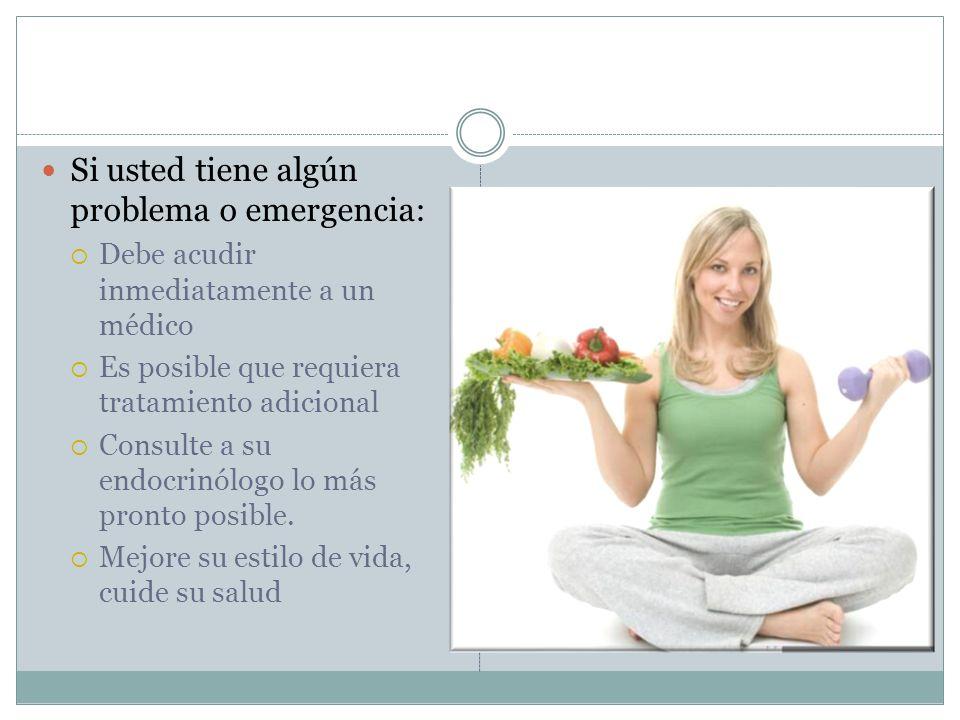 Si usted tiene algún problema o emergencia:
