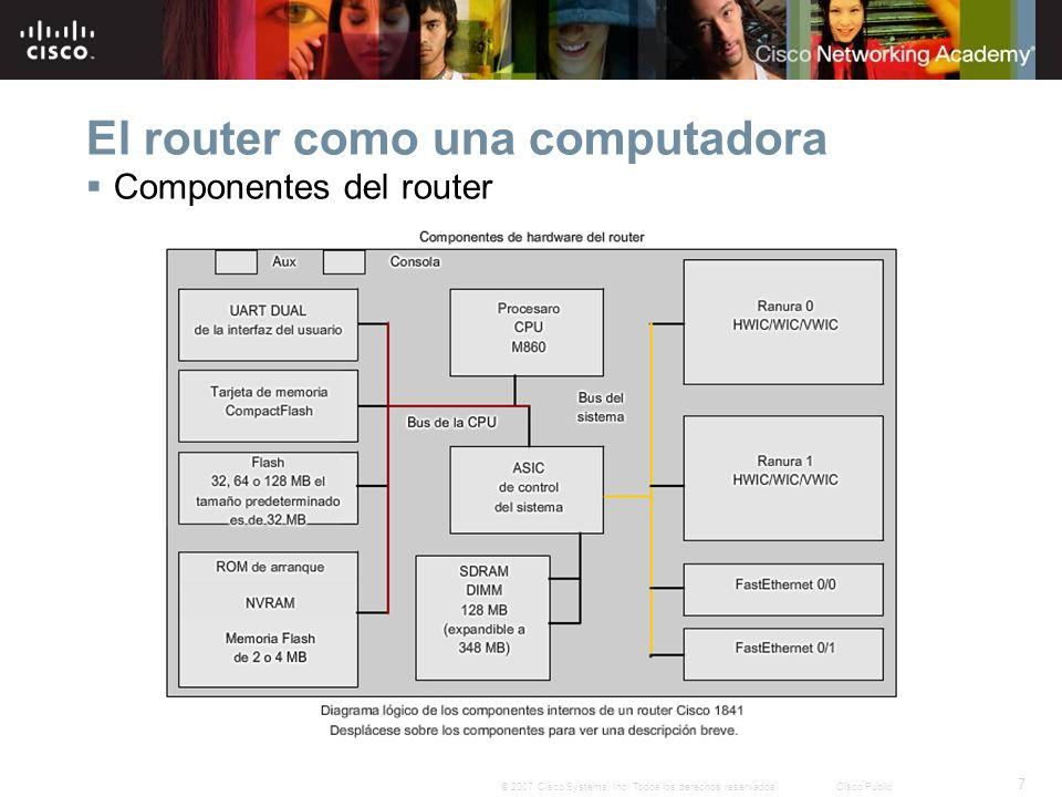 El router como una computadora