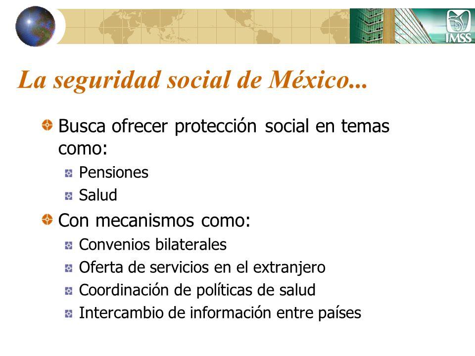 La seguridad social de México...