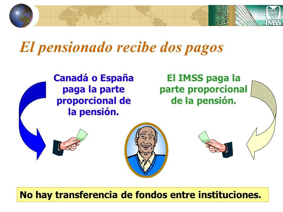 El pensionado recibe dos pagos